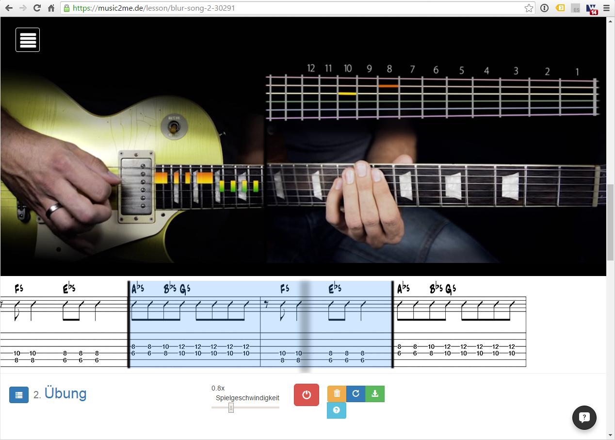 gitarrenkurs music2me