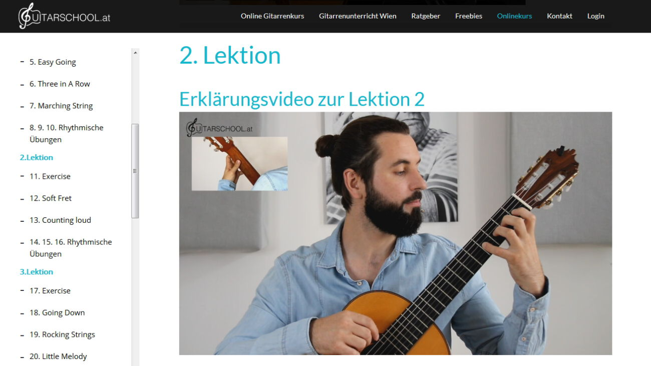 gitarrenkurs guitarschool.at