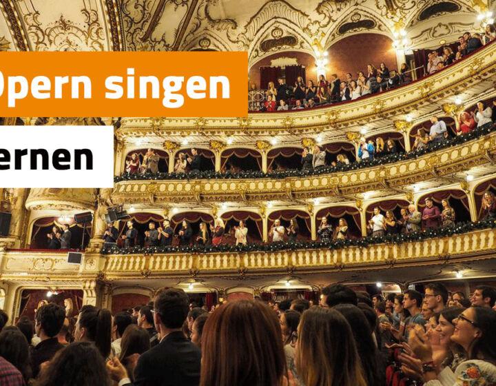 opern singen