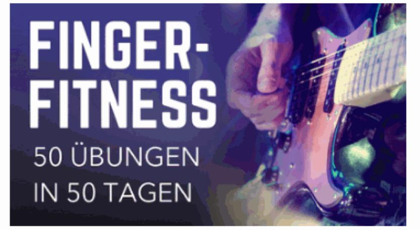 fingerübung gitarre Kurs