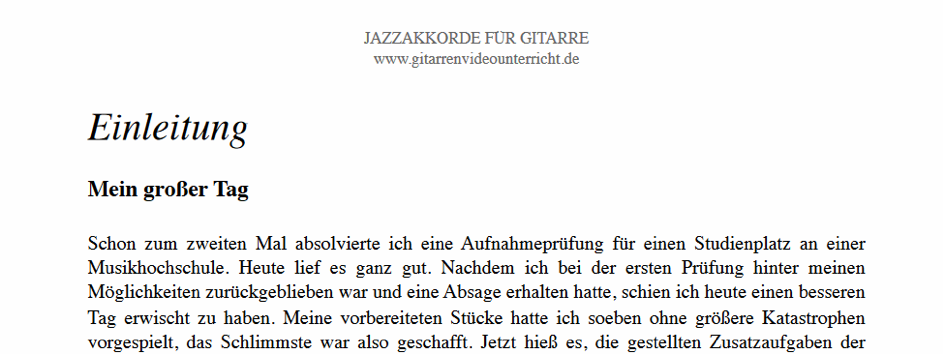 jazz akkorde E-Book