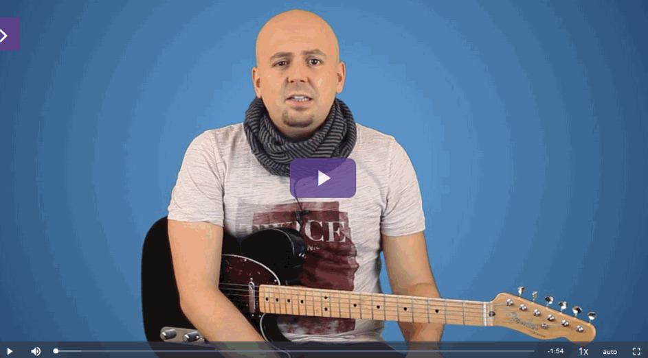 pentatonik gitarre video