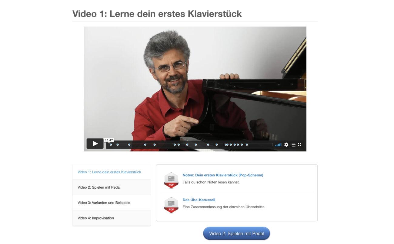 Franz Titscher Klavierkurs