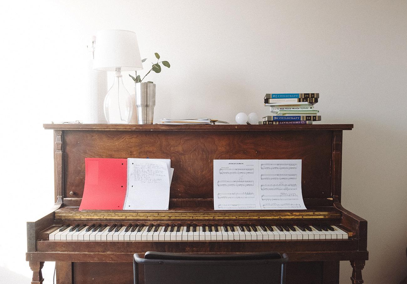 Klavier spielen Anfänger