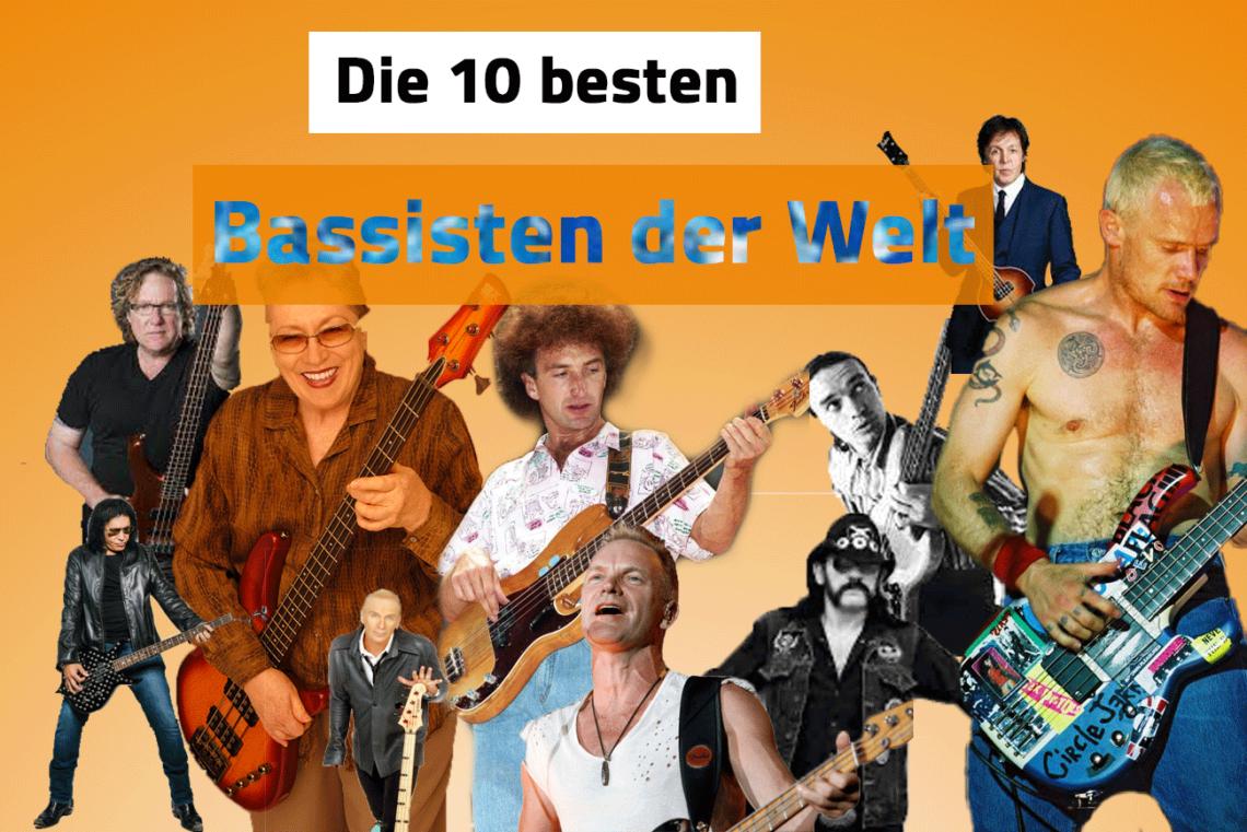 10 besten Bassisten