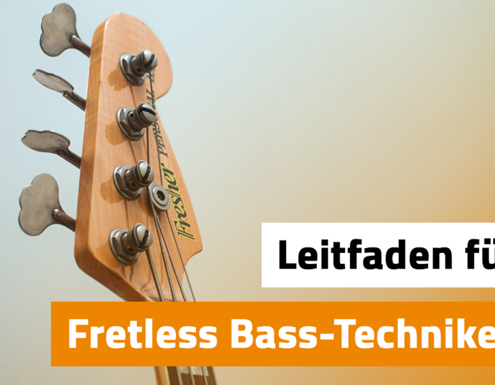 Fretless Bass Techniken