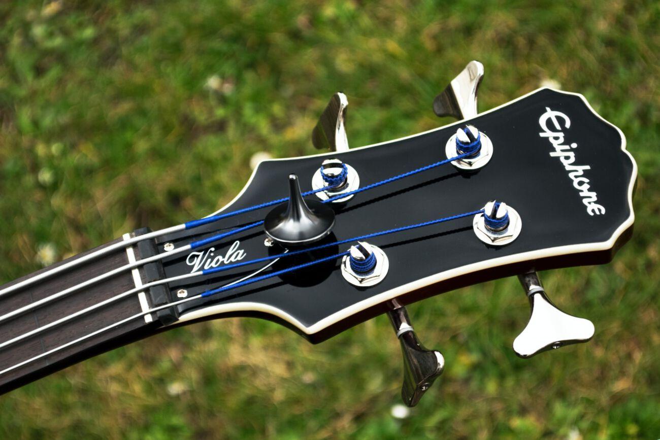 Der Fretless Bass von Epiphone